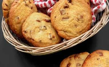 Cookies Pépites de Chocolat et Amandes Caramélisées