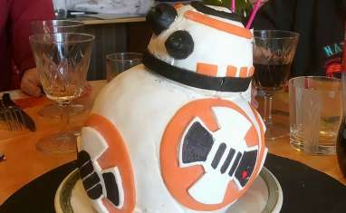 Cake design BB8 Star Wars