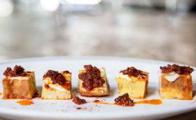 Tortilla espagnole à la sobrasada Ibérico