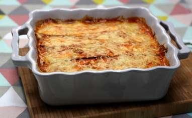 Gratin de courgettes façon lasagne