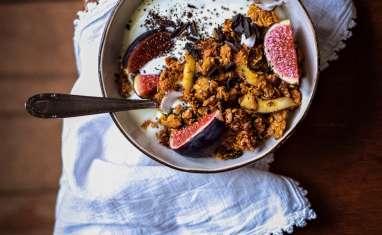 Granola d'automne à la patate douce et épices