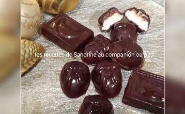Chocolat au coeur guimauve