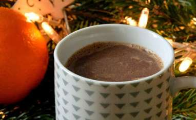 Chocolat chaud orange cannelle