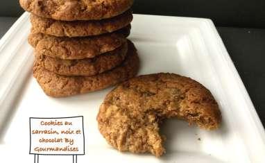 Cookies au sarrasin, noix et chocolat fondant