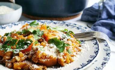 Risotto petit épeautre et courge honey butternut