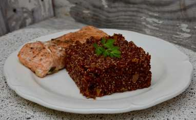 Quinoa a la tomate façon risotto