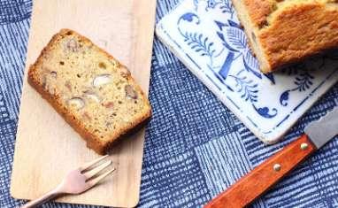 Banana bread à la marmelade d'oranges amères