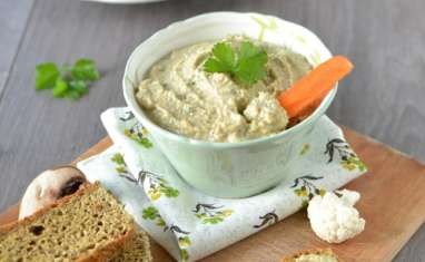 Tartinade au tofu soyeux et olives vertes