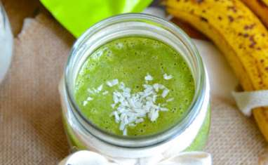 Green smoothie protéiné