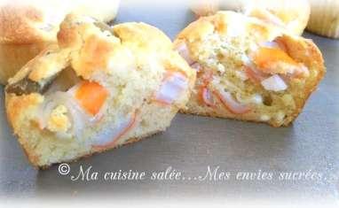 Muffins surimi olives feta