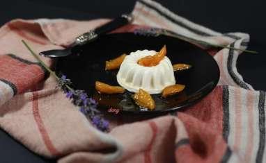 Entremets fromage blanc et abricots