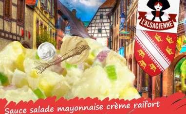 Sauce mayonnaise à la crème et au raifort