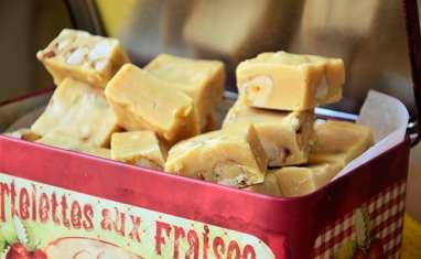 Fudge aux noix du Brésil caramélisées