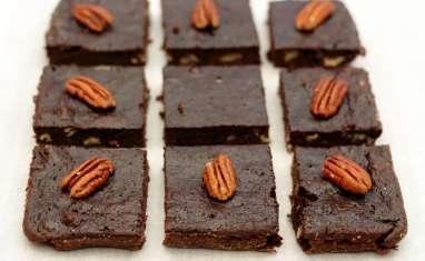 Brownie sans matière grasse à la courgette