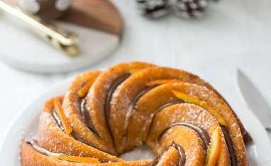 Bundt cake orange et Nutella