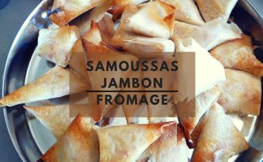Samoussas jambon fromage