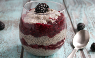 Pudding aux graines de chia