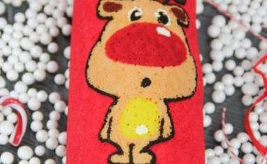 Biscuit roulé Rudolph