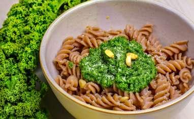 Pesto de chou kale à la ricotta