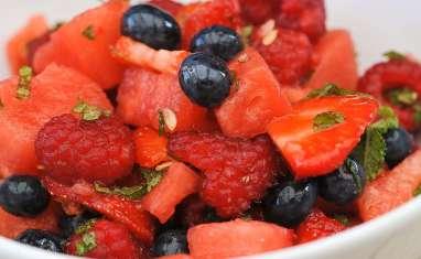Salade de fruits rouges