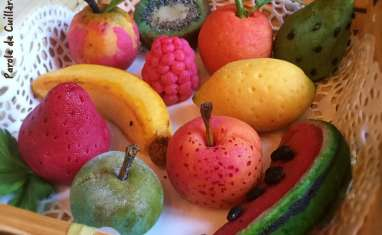 Fruit en massepain