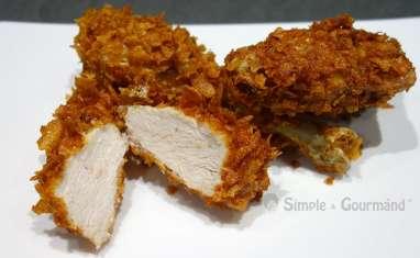 Corn fried chicken