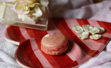 Macarons à l'eau de rose