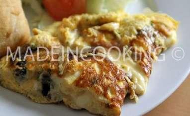 Omelette de figatellu