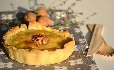Tartelettes fondantes aux panais, topinambour et noix