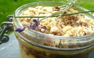 Parmentier de canard, purée de panais, crumble aux noix