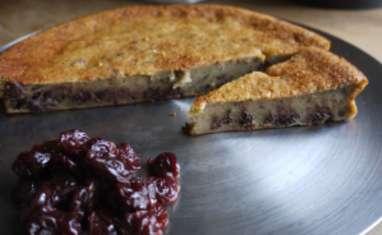Pudding chocolat cerises de PakPak
