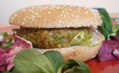 Burger végétarien à la mexicaine
