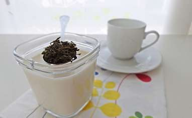 Yaourts au thé earl grey