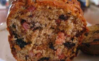 Cake aux lardons et olives noires