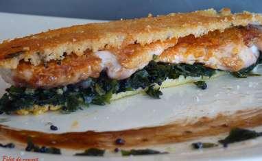 Croustillant de rouget et tartare de wakame