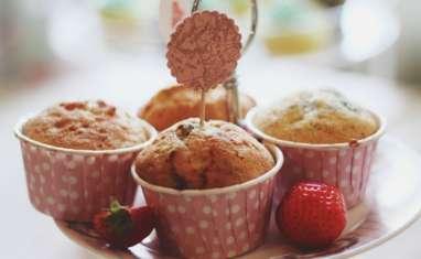 Muffins à la vanille et aux fruits rouges