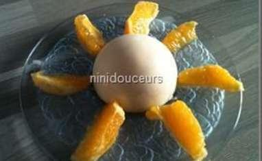 Dôme chocolat blanc et mousse aux fruits exotiques