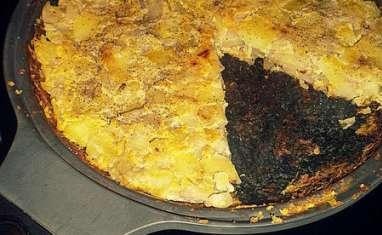 Tortilla endives et pommes de terre