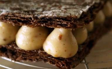 Millefeuille craquant au chocolat
