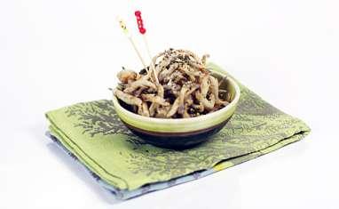 Friture d'éperlans - Wasabi Furikake