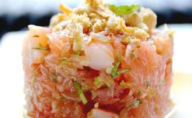 Salade Thaïe de Pamplemousse & Crevettes