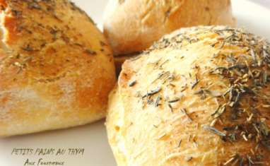 Petits pains au thym