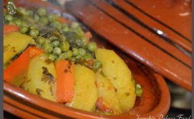 Tajine aux légumes du potager