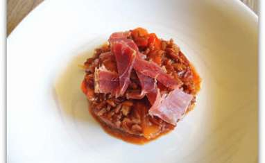 Risotto tout rouge