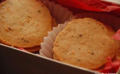 Crackers au Parmesan et au Thym