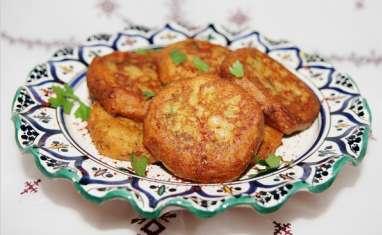 Beignets d'aubergines et pomme de terre