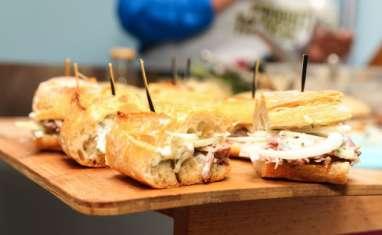 Sandwich à la joue de porc