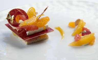 "Cheese Cake aux Agrumes, Mascarpone et ""Rice Krispie™"""