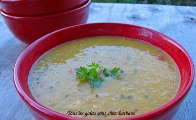 Soupe dal épicée