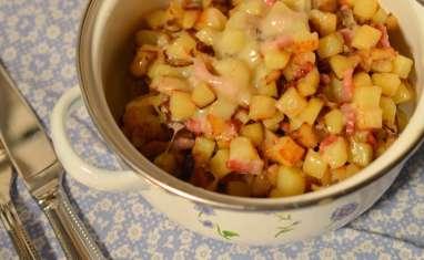 Poêlée de pommes de terre au comté